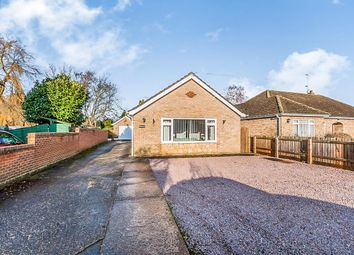 Thumbnail 2 bed detached bungalow for sale in Chapel Lane, Elm, Wisbech
