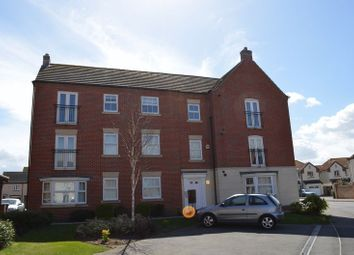 Thumbnail 2 bed flat for sale in Greenfinch Crescent, Witham St Hughs, Lincoln