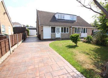 Thumbnail 3 bedroom semi-detached bungalow for sale in Morwick Grove, Scholes, Leeds