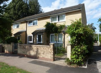 Thumbnail 2 bedroom end terrace house to rent in Colwyn Close, Cambridge