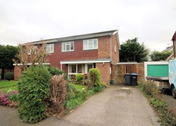 Thumbnail 4 bedroom semi-detached house to rent in Crockford Close, Addlestone
