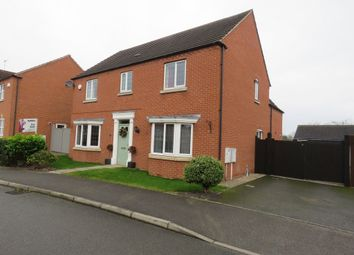 Thumbnail 4 bed detached house for sale in Northfield Road, Welton, Lincoln