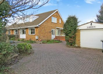 Thumbnail 3 bed semi-detached bungalow for sale in Harewood Road, Coventry
