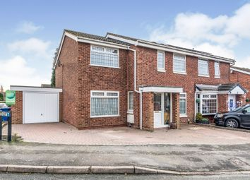 Thumbnail Semi-detached house for sale in Greenlee, Wilnecote, Tamworth