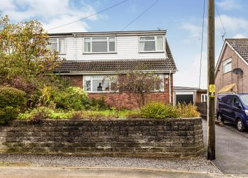 Thumbnail 3 bed semi-detached bungalow for sale in Minffrwd Road, Pencoed, Bridgend