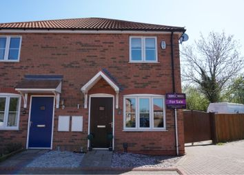 Thumbnail 2 bed town house for sale in Saxonfields Drive, Stallingborough, Grimsby