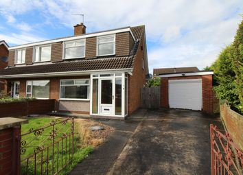 Thumbnail 3 bed semi-detached house for sale in De Lacy Avenue, Carrickfergus