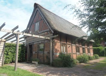 Thumbnail 1 bed barn conversion to rent in Middlewich Road, Lower Peover, Knutsford