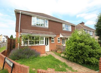 Thumbnail 3 bed detached house to rent in Floyds Lane, Pyrford, Woking