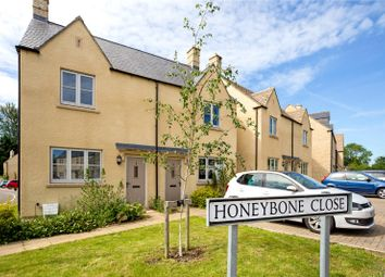 Thumbnail 2 bed end terrace house for sale in Honeybone Close, Fairford, Gloucestershire