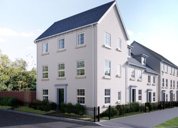 Thumbnail 4 bedroom end terrace house for sale in Blackthorn Lane, Cranbrook, Exeter