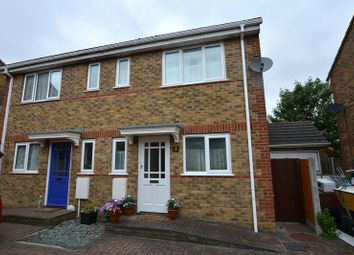 Thumbnail 3 bed semi-detached house for sale in Church View Close, Southend-On-Sea