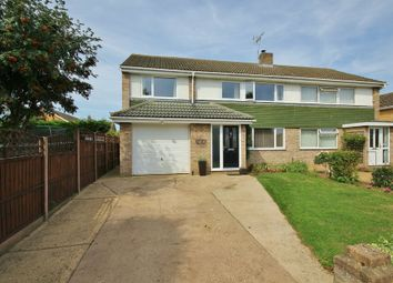 Thumbnail 4 bedroom semi-detached house for sale in Fairfields, St. Ives, Huntingdon