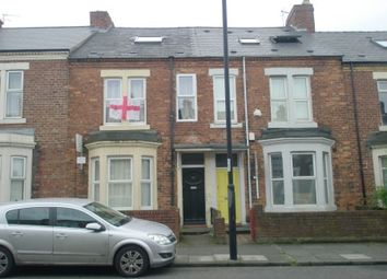 Thumbnail 4 bed flat to rent in Warwick Street, Newcastle Upon Tyne
