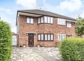 Thumbnail 3 bed semi-detached house for sale in Sandymount Avenue, Stanmore, Middlesex