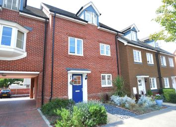 Thumbnail 3 bedroom town house for sale in Jubilee Drive, Church Crookham, Fleet