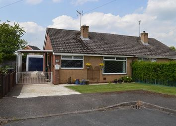 Thumbnail 2 bedroom bungalow for sale in Cypress Close, Market Drayton