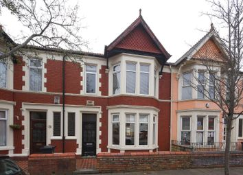 Thumbnail 4 bed terraced house for sale in Amesbury Road, Penylan, Cardiff
