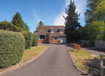 Thumbnail 4 bed detached house for sale in Firs Road, Firsdown, Salisbury