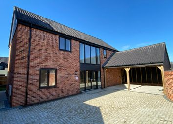 Thumbnail 4 bed detached house for sale in Plot 12 The Maple, Oakland Mews, Strumpshaw