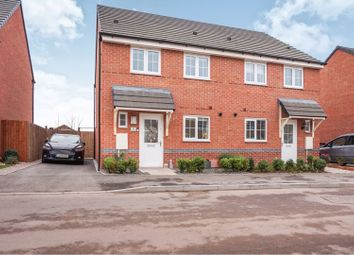 Thumbnail 3 bed semi-detached house for sale in Poplar Street, Shifnal