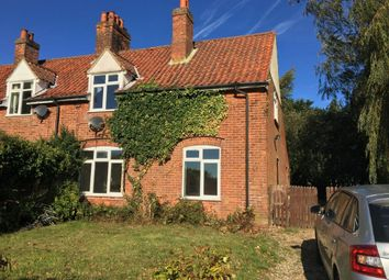 Thumbnail 4 bed cottage to rent in Hall Road, Felmingham, North Walsham