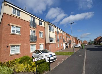 Thumbnail 2 bed flat to rent in Redgrave Close, St James Village, Gateshead