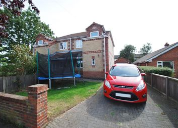 Thumbnail 3 bed semi-detached house for sale in Sunningdale Drive, Chapel St. Leonards, Skegness