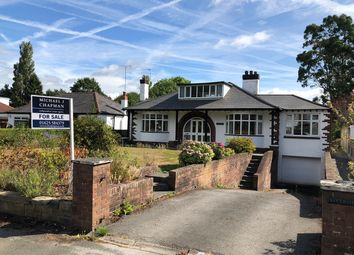 Thumbnail 3 bed detached bungalow for sale in Handforth Road, Wilmslow