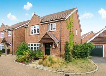 Thumbnail 4 bed detached house for sale in Hereford Way, Royston