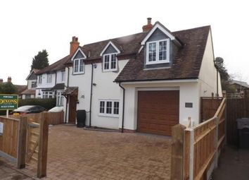 Thumbnail 3 bedroom detached house for sale in Barley Mow Lane, Catshill, Bromsgrove