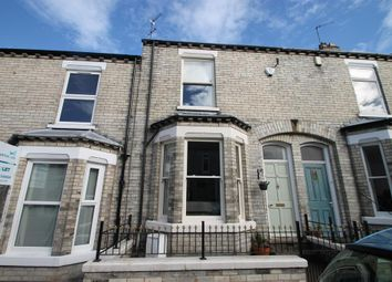 Thumbnail 2 bed terraced house for sale in Russell Street, York, North Yorkshire