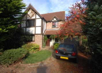Thumbnail 4 bed detached house for sale in The Lindens, Langdon Hills, Essex