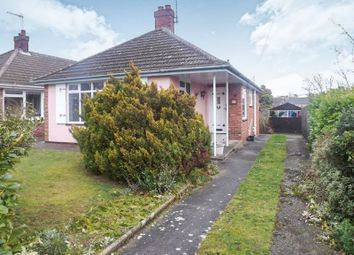 Thumbnail 2 bed detached bungalow for sale in Elmhurst Avenue, Lowestoft