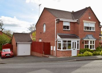 Thumbnail 4 bed detached house for sale in Wooton Close, Redditch