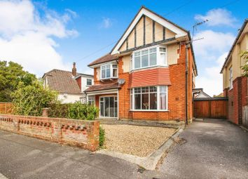 Thumbnail 4 bed detached house for sale in Fernside Road, Winton, Bournemouth