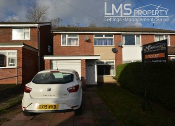 Thumbnail 3 bed semi-detached house to rent in Latham Street, Winsford
