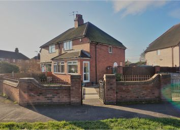 Thumbnail 3 bed semi-detached house for sale in Knutton Lane, Newcastle