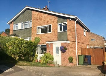 Thumbnail 3 bed semi-detached house for sale in Meavy Close, High Wycombe