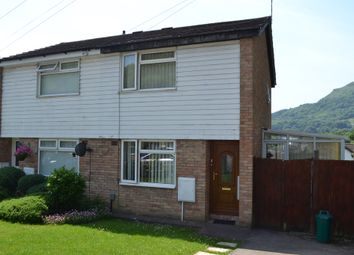 Thumbnail 2 bed semi-detached house for sale in Rhiw'r Ddar, Taffs Well, Cardiff