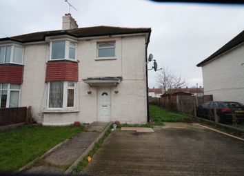Thumbnail 4 bed semi-detached house to rent in Southgate Avenue, Feltham