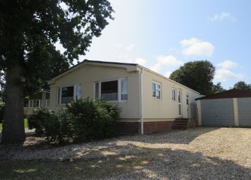 Thumbnail 2 bedroom mobile/park home for sale in Oaklands Park, Crossways, Dorchester