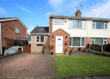 Thumbnail 3 bed semi-detached house to rent in Woodleigh Crescent, Ackworth, Pontefract, West Yorkshire