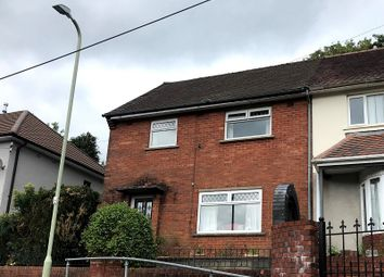 Thumbnail 3 bed semi-detached house for sale in Heol Orchwy, Treorchy, Rhondda Cynon Taff.