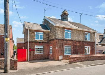 Thumbnail 2 bed semi-detached house for sale in Gaultree Square, Emneth, Wisbech
