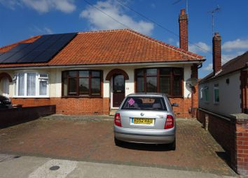 Thumbnail 2 bed semi-detached bungalow for sale in Bennett Road, Ipswich
