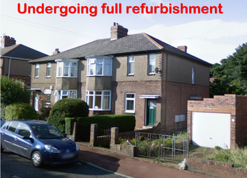 Thumbnail 1 bed flat to rent in Castleside Road, Newcastle Upon Tyne
