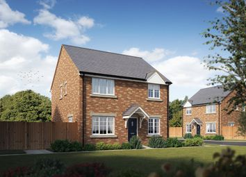 "Thumbnail 4 bed detached house for sale in ""The Knightsbridge"" at Bridgend Road, Llanharan, Pontyclun"
