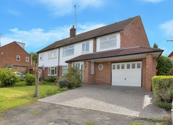 Thumbnail 4 bed property to rent in Tudor Road, Wheathampstead, Hertfordshire