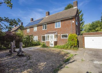 Thumbnail 3 bed semi-detached house for sale in Picquets Way, Banstead